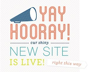 Our shiny NEW WEBSITE is live!