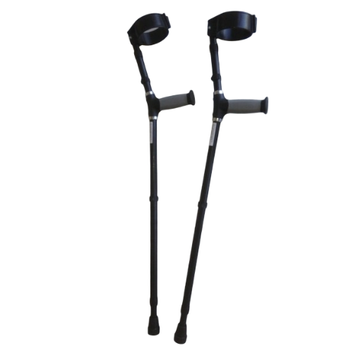 Forearm Crutches with Black Handles | GMS Rehabilitation